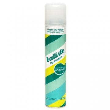 Batiste 秀髮乾洗噴劑,#經典清新,200ml,390元。