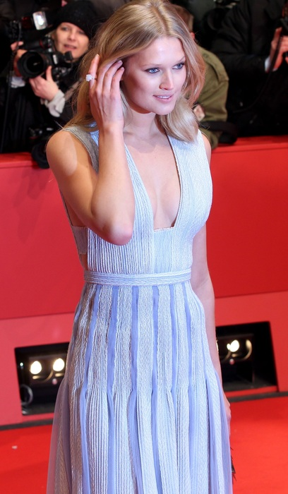 德國超模 Toni Garrn(圖/BOSS)