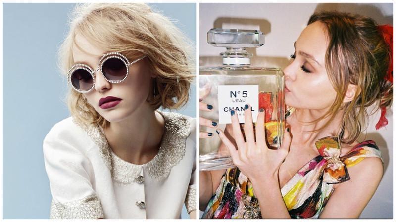 2015-2016年獲得老佛爺欽點,成為香奈兒墨鏡與香水代言人。