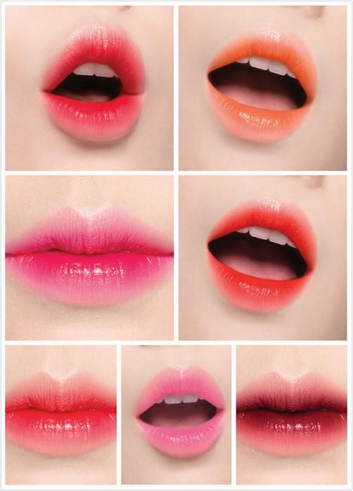 多種色選可供選擇,超放電晶潤雙色唇膏,850元。