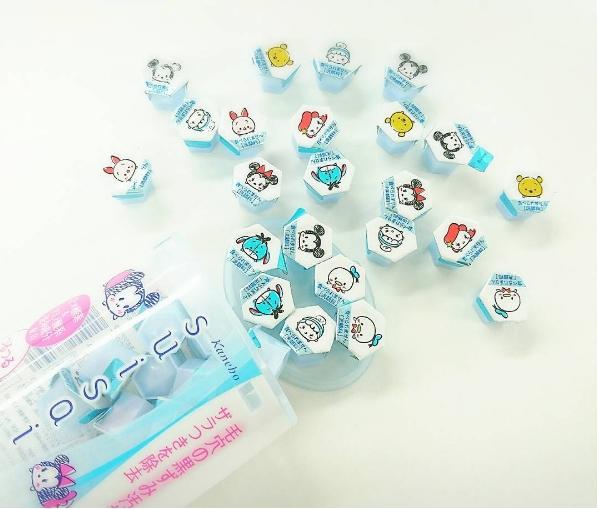天啊~真是太可愛了!suisai酵素潔膚粉推出「迪士尼tsum tsum版」!