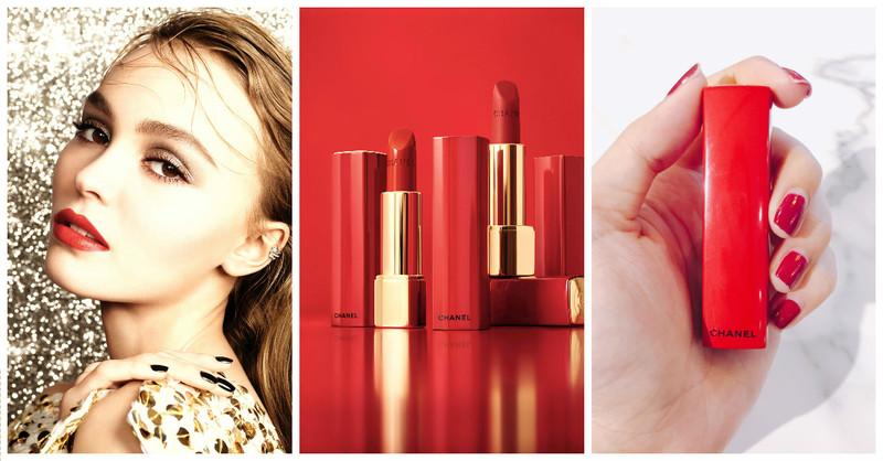小香粉必收!「紅色管身唇膏」美出新高度,為聖誕彩妝揭開序幕!