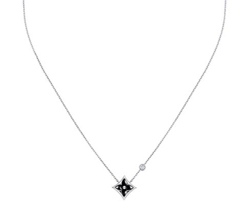 Star Blossom BB系列,黑色縞瑪瑙項鍊,85,000元。