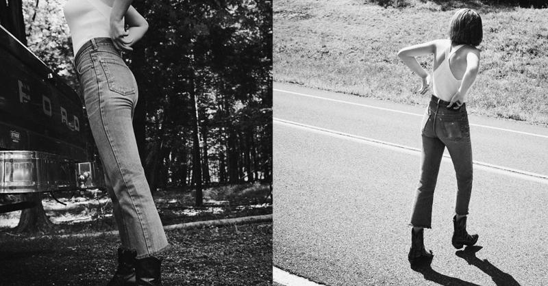由好萊塢明星伊森霍克與烏瑪舒曼之女 - Maya Hawke所演藝的最新AllSaints 形象。