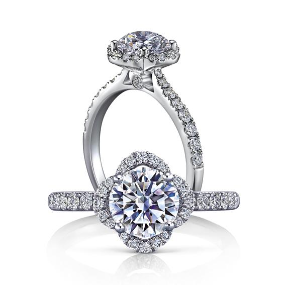 Timeless永恆系列,美鑽戒指,240,000元起。