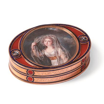 羅溫艾斯汀侯爵夫人的藏珍匣。