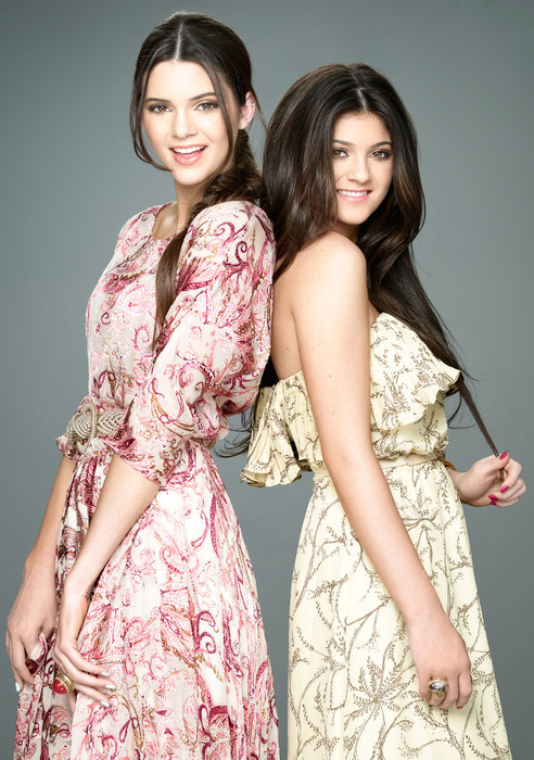 Kendall and Kylie Jener for OK magazine