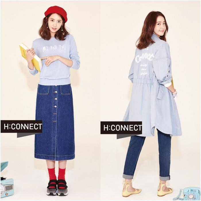 潤娥示範H:CONNECT春夏趨勢 韓國超模私服必備單品
