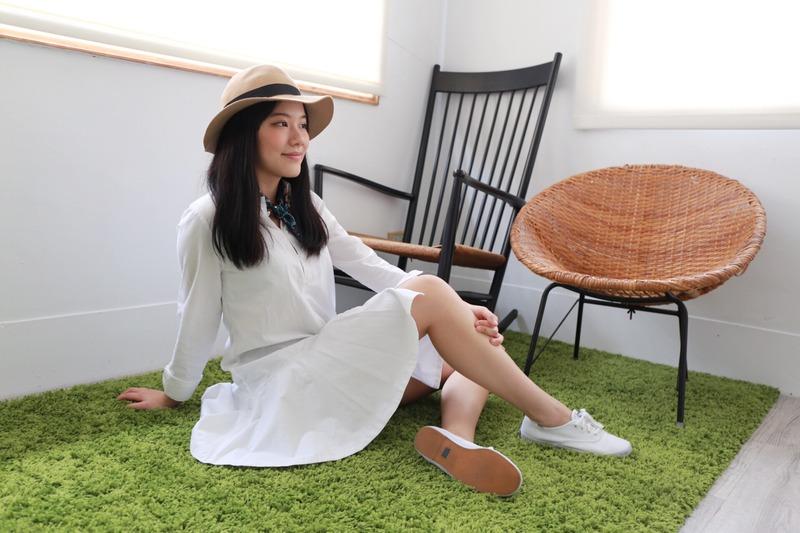 【編輯穿搭】白布鞋 通勤v休閒 4種穿搭術
