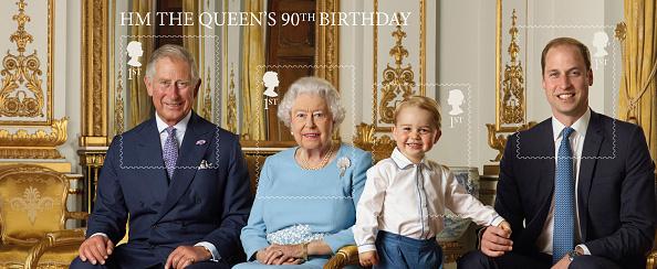 藍色=貴族=喬治小王子愛用色