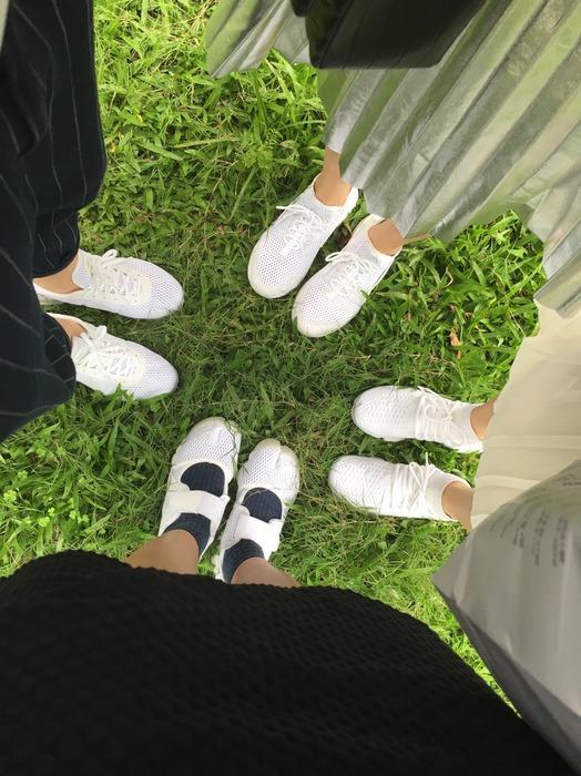 時尚辦公室Dress Code: 白球鞋