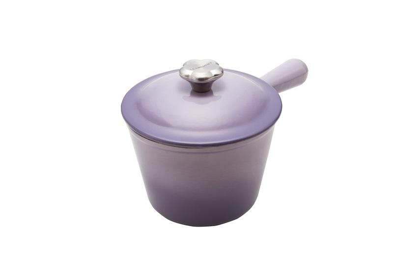 LE CREUSET 鑄鐵溫莎單柄鍋(藍鈴紫)原價11000元