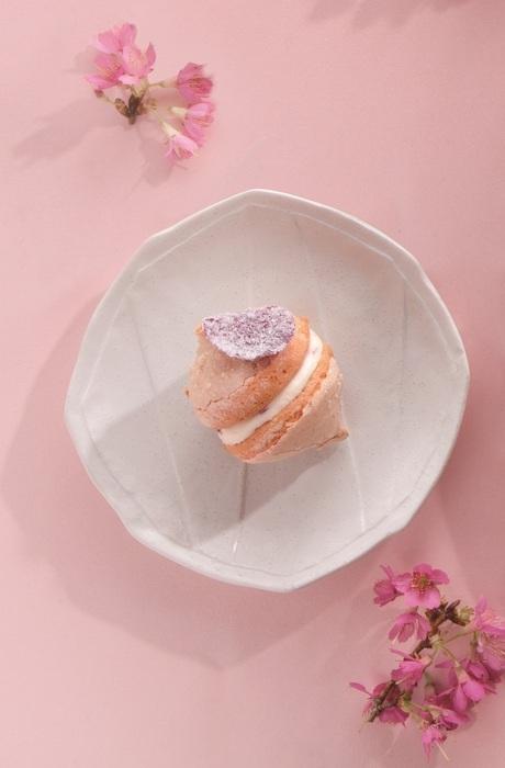 台北喜來登桃山【綺舞.櫻の味】玫瑰櫻桃雪餅