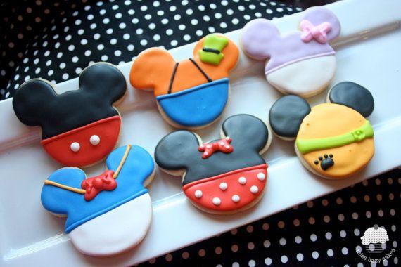 幫大家「造夢」的迪斯尼,怎麼連餅乾都那麼可愛呢!