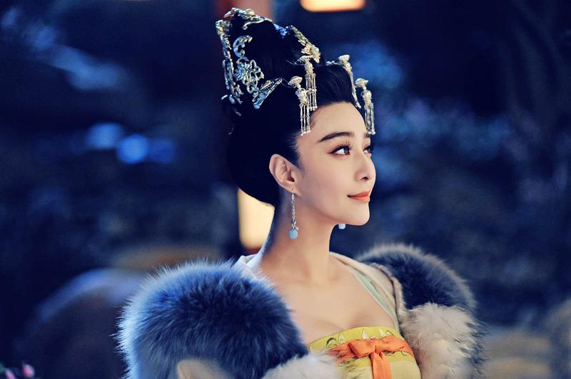 范冰冰在《武媚娘》裡面真的好美!完全hold住女王的氣場!