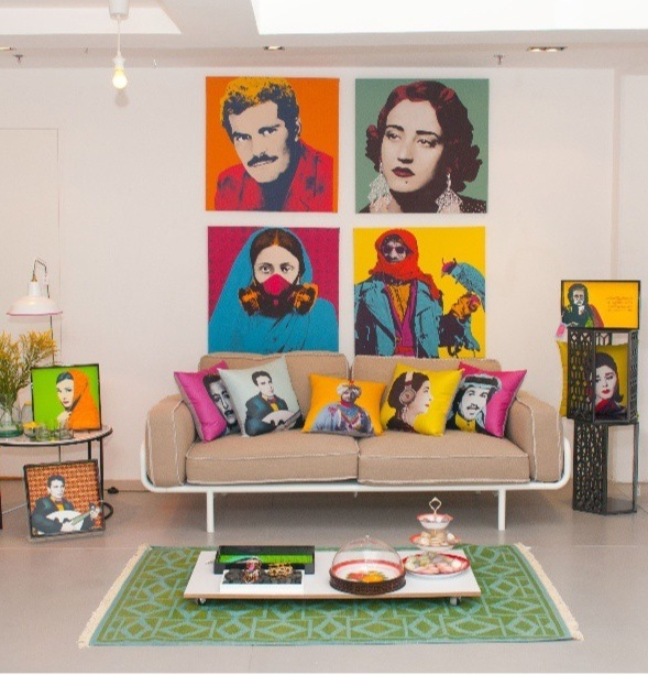 家裡如果放上普普的裝飾畫,整個氣氛就不一樣了