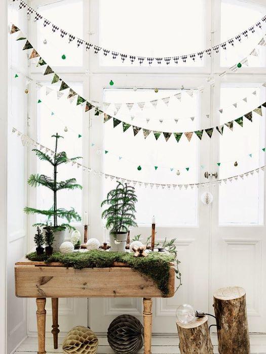 在北歐風中,植物和小配件是必不可少的