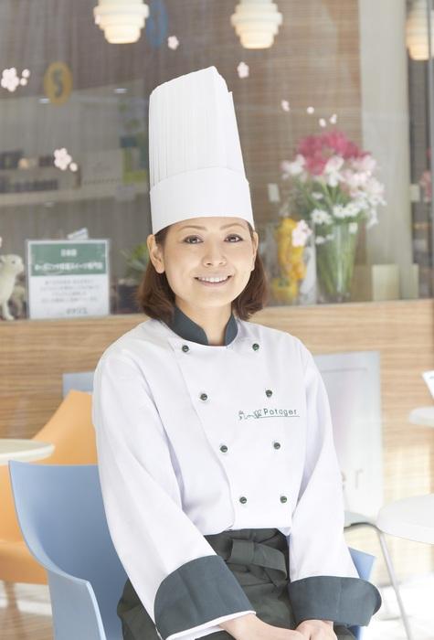 菠啾花園Chef Owner柿沢安耶。