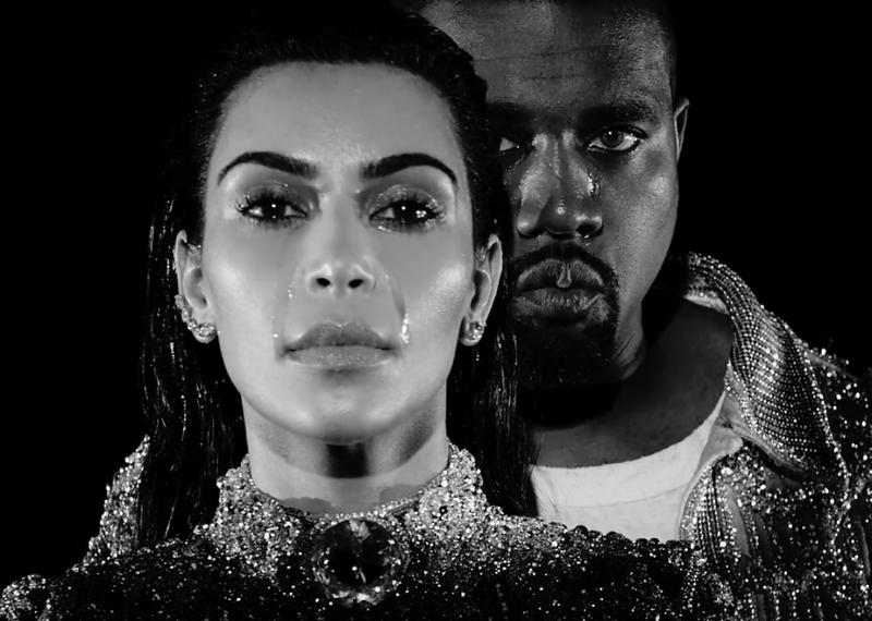 Kanye West &Kim Kardashian 為Balmain以淚洗面!