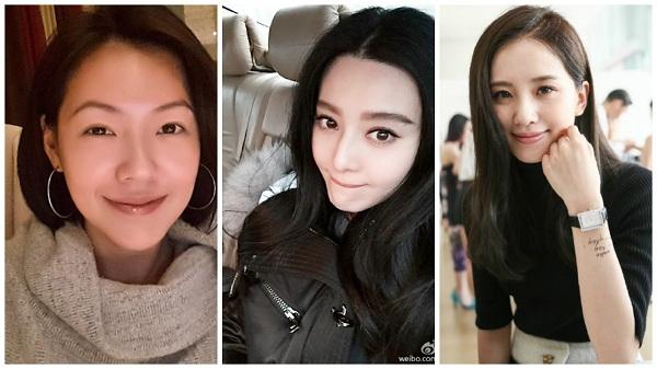 小S、范冰冰和劉詩詩,黑髮就能成為女神!