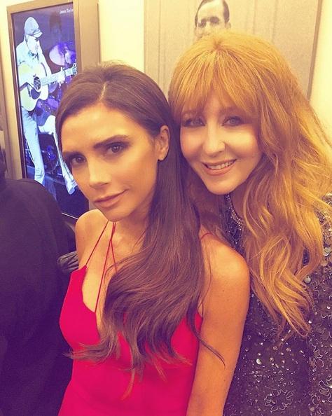 夏洛特緹布瑞 Charlotte Tilbury 和 維多利亞貝克漢Victoria Beckham 的合照