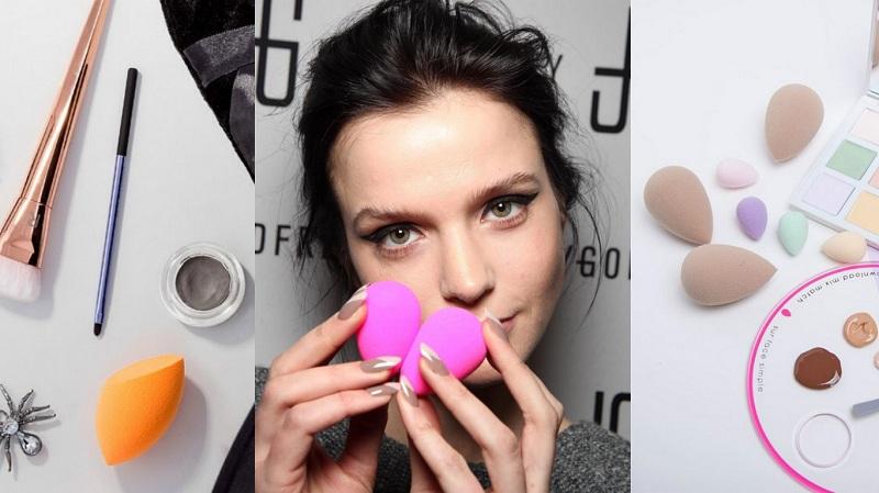 美妝部落客最愛!用美妝蛋推出薄透妝容