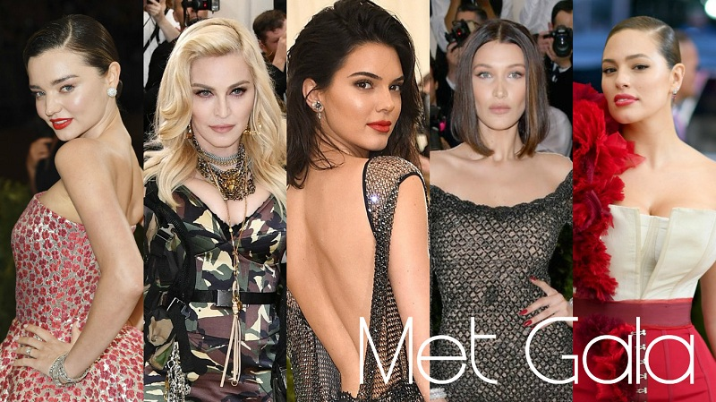 MET Gala 晚宴前比心機!娜姐、Kendall、bella hadid 妝前這樣做