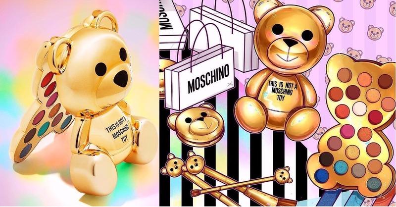 今夏必收的萌彩妝!MOSCHINO X Sephora 聯名推出泰迪彩妝系列