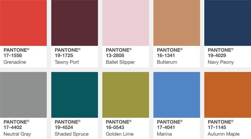 迎接優雅秋日時節!從 Pantone 下半年的色彩趨勢找指彩靈感
