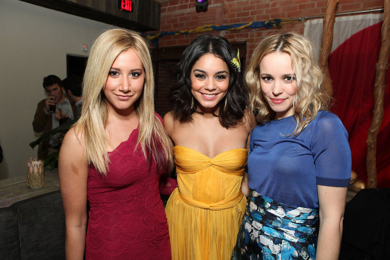 Ashley Tisdale, Vanessa Hudgens, and Rachel McAdams