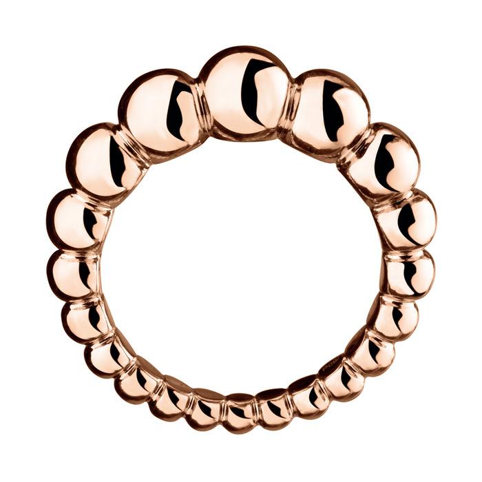 VAN CLEEF & ARPELS-瑰麗幾何 VAN CLEEF & ARPELS往往能讓珠寶展現童趣、夢幻一面,配戴亮麗卻不猖狂  玫瑰金戒指, 77.000元