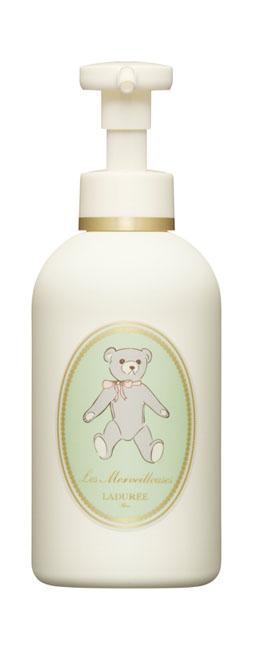 Les Merveilleuses Ladurée 焦糖君媽咪寶寶潤膚乳,180ml,1,350元