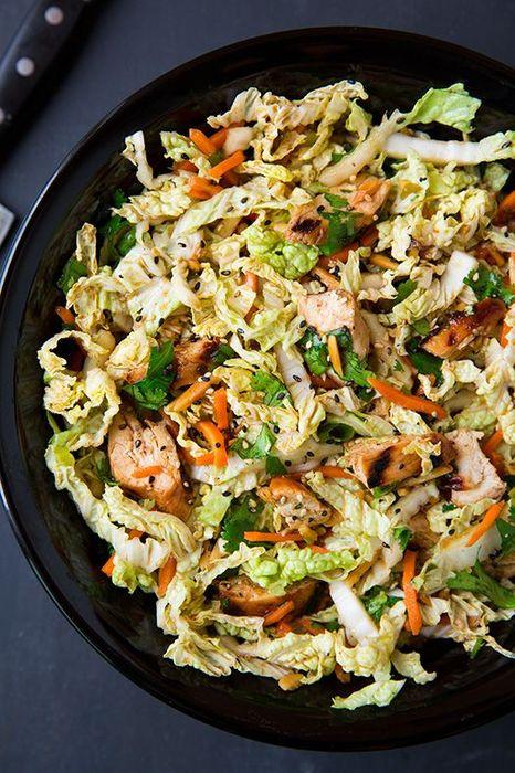 可選任何肉類、沙拉或蔬菜,亦可以用牛油來烹調,但不可加糖及澱粉質。