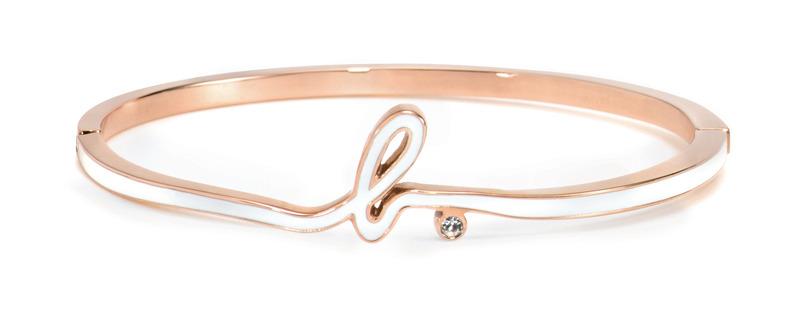 agnès b. Bijoux系列b. Love白金手環,價格電洽。