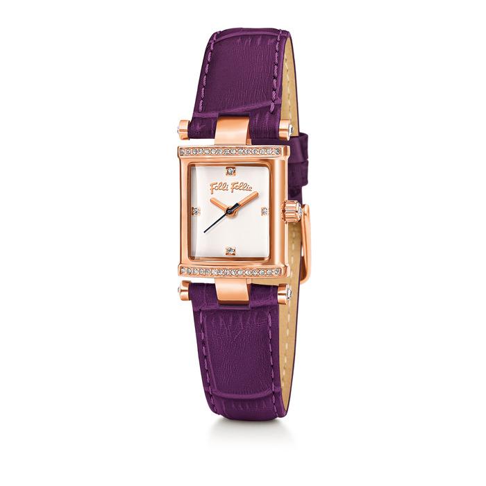 Folli Follie Square Logic系列腕錶,9,290元。