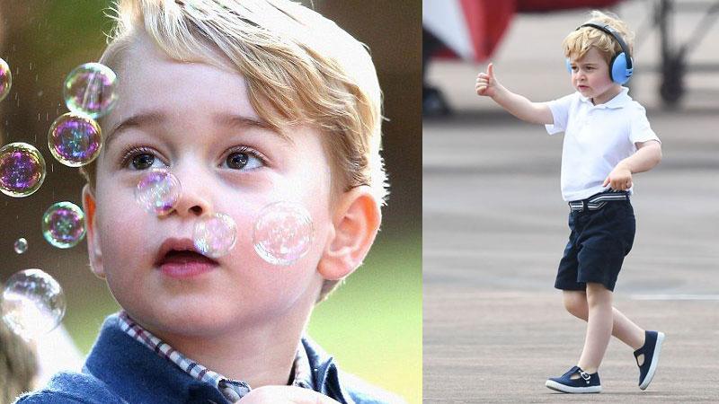 超萌喬治小王子上學去!威廉王子和凱特會如何幫他選擇學校?