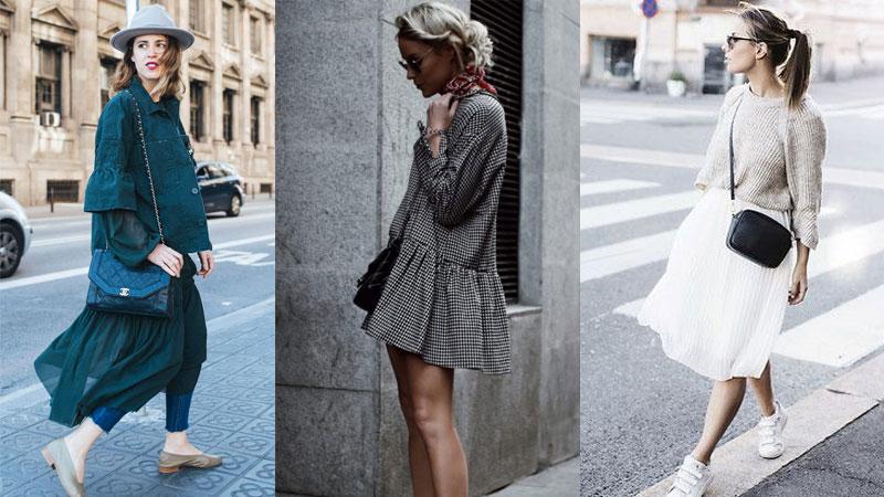 快時尚也能有高質感,時尚街拍告訴你ZARA春夏必買裙裝