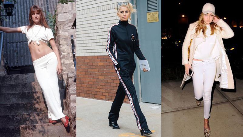 運動休閒風也能展現法式浪漫,5種法國女生最時髦穿搭法