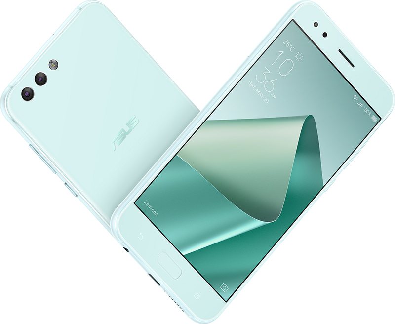 送你 TIFFANY & CO鍊墜!ASUS ZenFone 4 推出如薄荷般 TIFFANY 綠