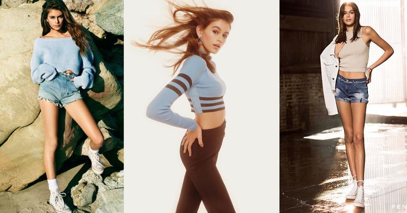 遺傳超模媽媽的神基因,Kaia Gerber成為時尚圈新寵兒
