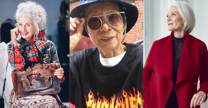 時尚從沒有年齡限制,這些老奶奶穿得比妳我還更時尚