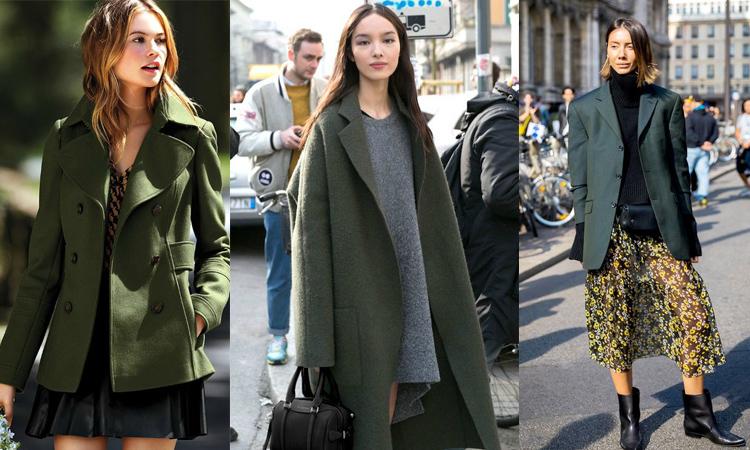 橄欖綠外套