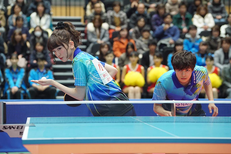 乒乓少女大逆襲