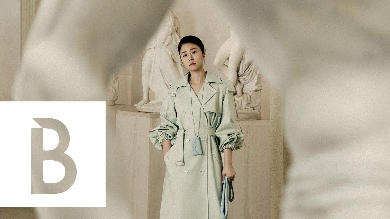 《她們創業的那些鳥事》林心如詮釋Max Mara 2021春夏新裝!漫遊奇美博物館,女神化身藝術與時尚謬思